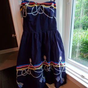 Anthro nautical dress